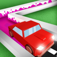 Car Driving Paint 3D