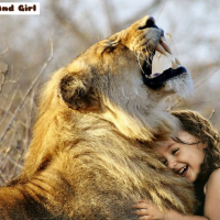 Lion And Girl Jigsaw