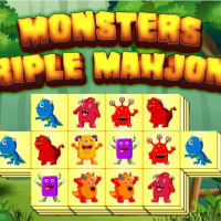 Monsters Triple Mahjong