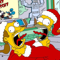 Simpsons Christmas Jigsaw Puzzle