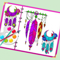 Miraculous Dream Catcher Coloring Book